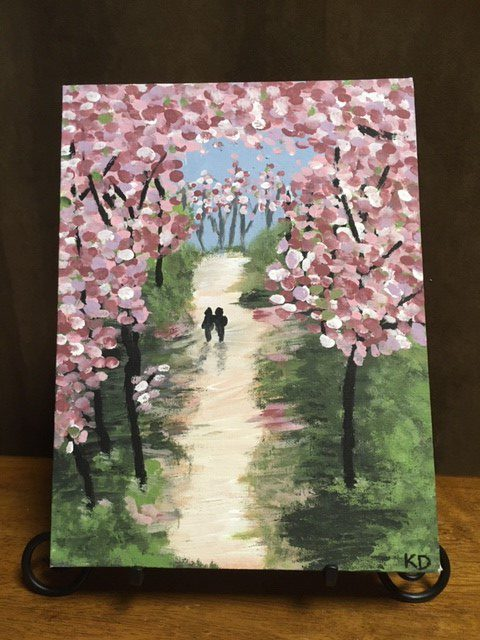 springtime lane