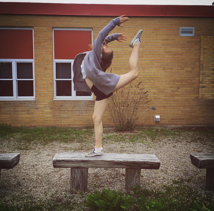 dancer at js buchanan school