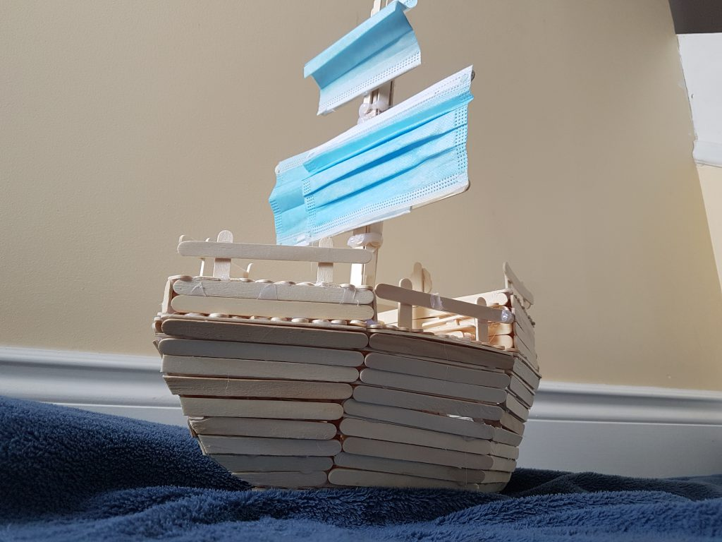 sailing away from are problems